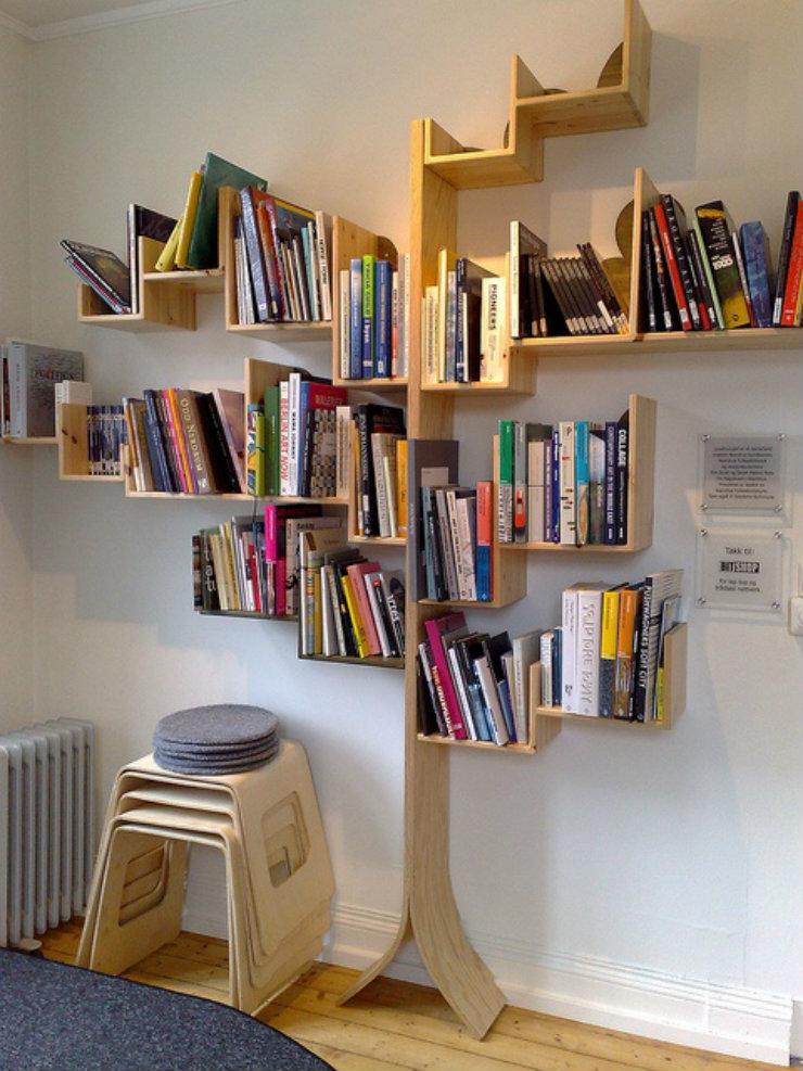 magasinsdeco-Comment ranger vos livres-arbre