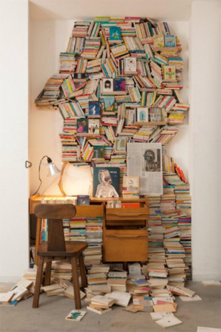magasinsdeco comment ranger vos livres visage. Black Bedroom Furniture Sets. Home Design Ideas