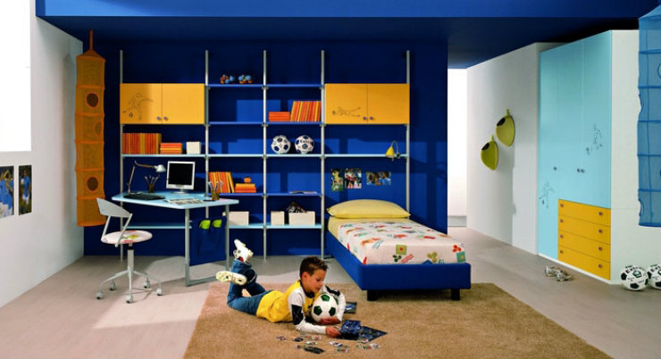 InteriorDecoration-5 summer ideas with blue and yellow-blue and yellow