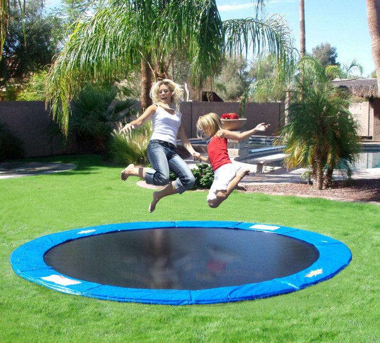 Magasinsdeco-Transformez votre arrière-cour aujourd'hui!-inground-trampoline
