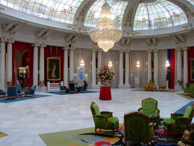 Un hôtel de luxe à nice-l'hôtel le negresco à nice-2