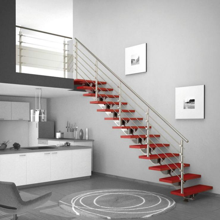 Escaliers - 5 Le meilleur escalier pour votre salon Le meilleur escalier pour votre salon Escaliers 5