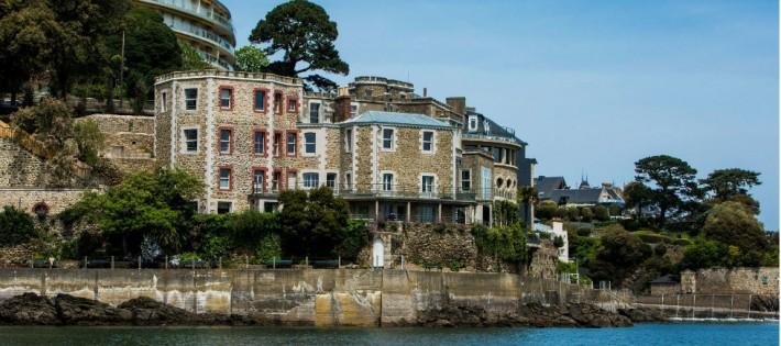 L'Hôtel Castel Brac à Dinard
