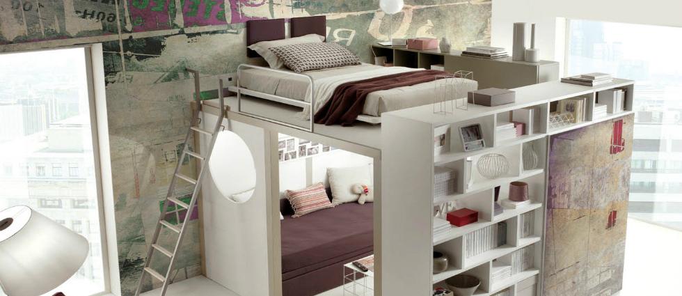 Un lit mezzanine - 1