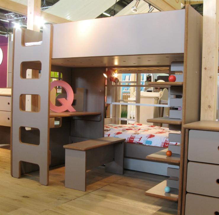 Un lit mezzanine pour votre enfant - Lit mezzanine enfant 4 ans ...