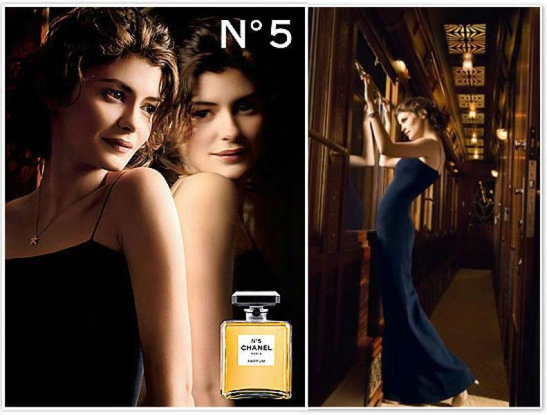 Audrey Tautou Chanel N ° 5: le Parfum pour cette saison Chanel N ° 5: le Parfum pour cette saison Audrey Tautou2