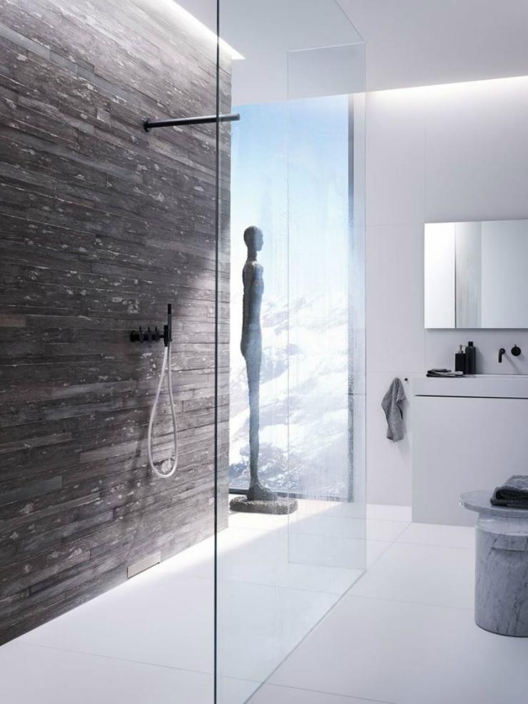 Douches à l'italienne - 4 Une douche à l'italienne Une douche à l'italienne Douches    litalienne 4
