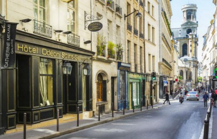 Façade de l'hôtel L'Hôtel Odéon Saint-Germain par Jacques Garcia L'Hôtel Odéon Saint-Germain par Jacques Garcia Fa  ade de lh  tel
