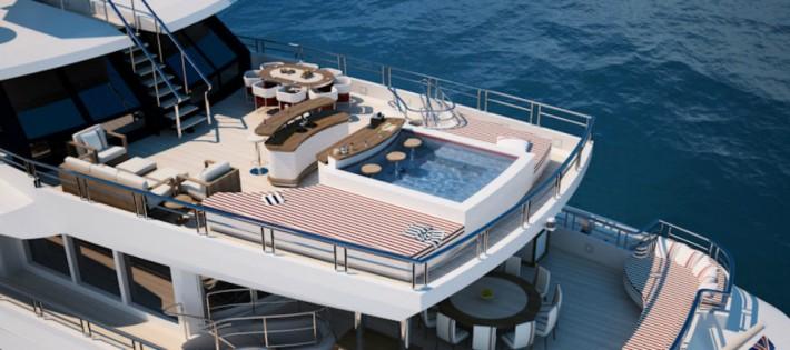 Les 5 meilleures décorations de yachts d'Alberto Pinto