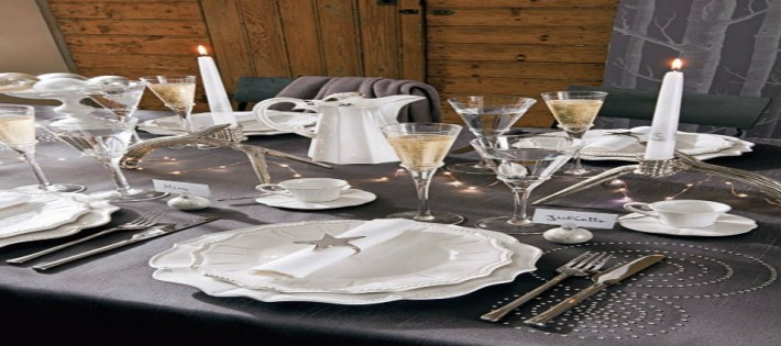 10 décoration de table pour le Nouvel An