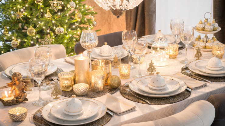 Les 10 plus belles tables de no l 2015 - Deco de noel table ...