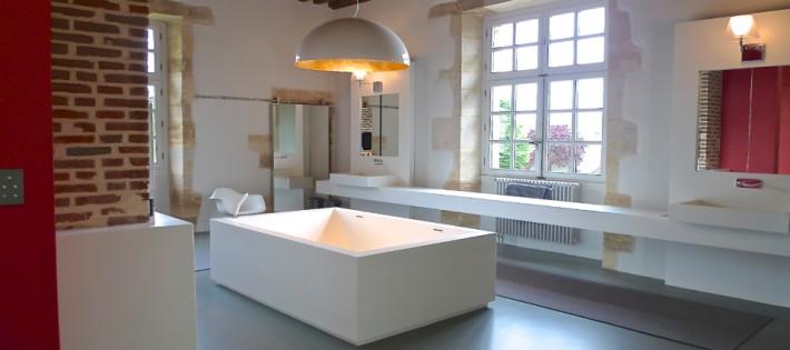 Une salle de bain par Philippe Demougeot