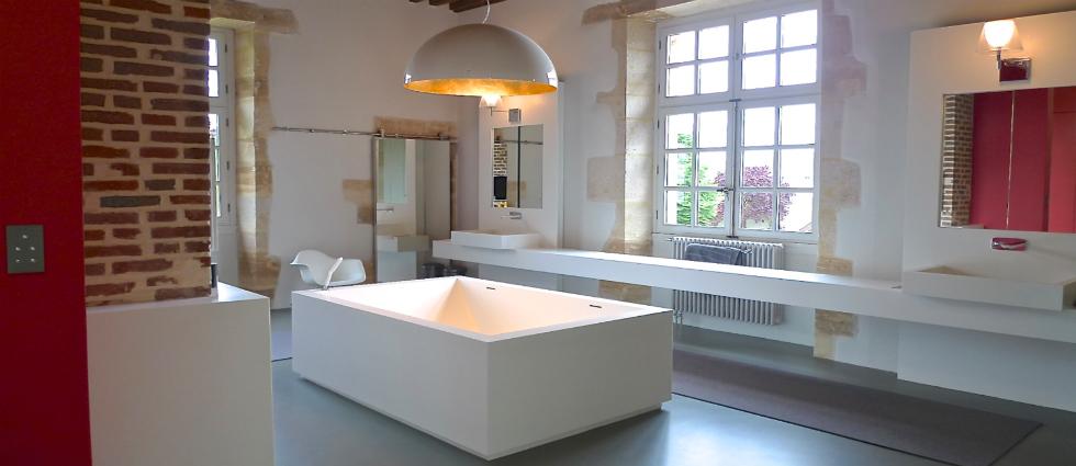 0 Une salle de bain par Philippe Demougeot Une salle de bain par Philippe Demougeot 019