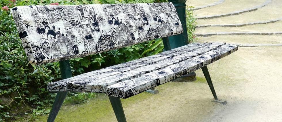 Des tissus signés Jean Paul Gaultier
