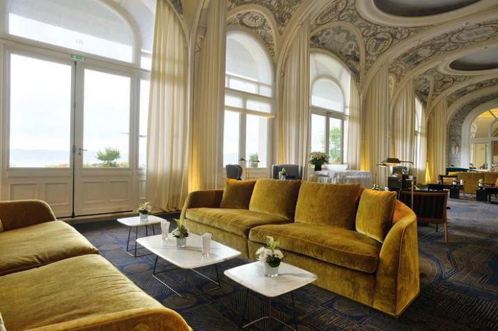 4 L'Hôtel Royal Evian décoré par François Champsaur L'Hôtel Royal Evian décoré par François Champsaur 42