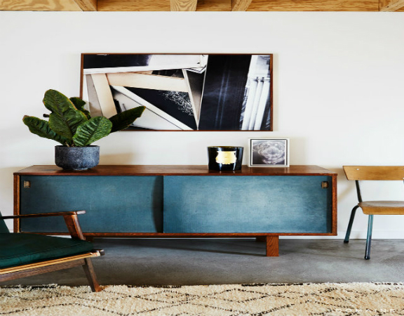 10 buffets design pour salon. Black Bedroom Furniture Sets. Home Design Ideas