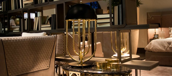 Des lampes de table pour une pièce à vivre contemporaine