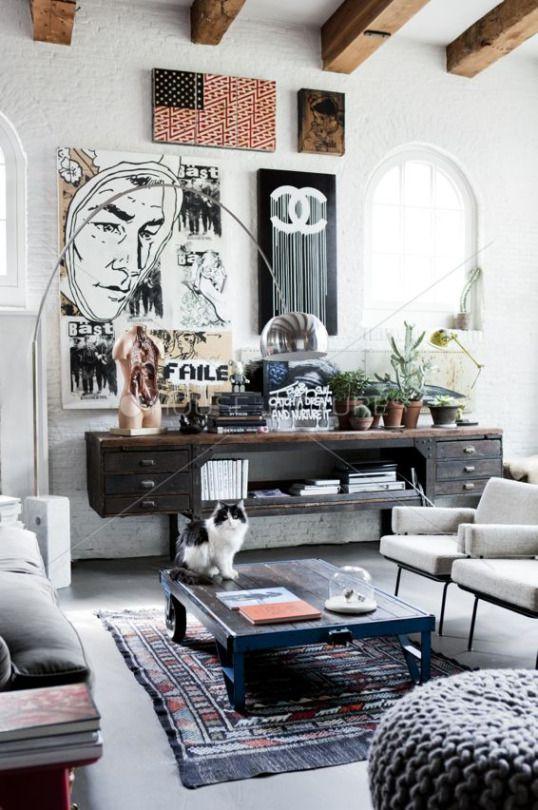 5 id es pour avoir une maison style industriel for Avoir une maison