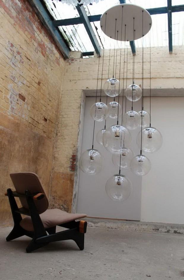 les 10 plus beaux lustres contemporains. Black Bedroom Furniture Sets. Home Design Ideas