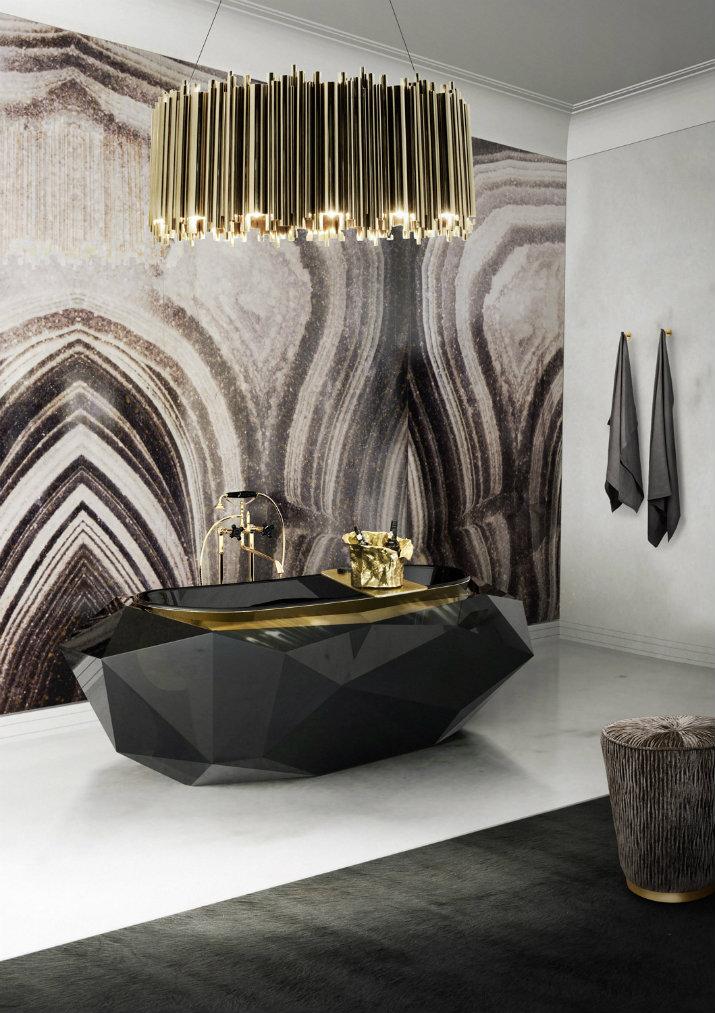 Des salles de bain avec la couleur noire salles de bain Des salles de bain avec la couleur noire 214