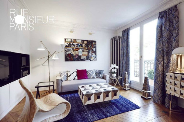LE PROJET ÉLÉGANTE AVEC LA CRÉATIVITÉ ET CONFORT CONTEMPORAIN L'appartement par Rue Monsieur Paris L'appartement par Rue Monsieur Paris 24