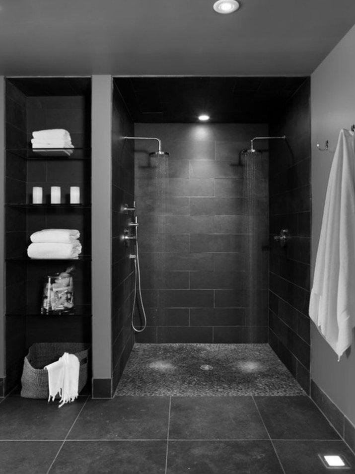 Des salles de bain avec la couleur noire salles de bain Des salles de bain avec la couleur noire 24242