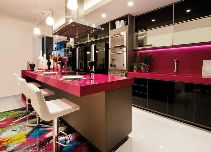 5 cuisines de style moderne for Style de cuisine moderne photos