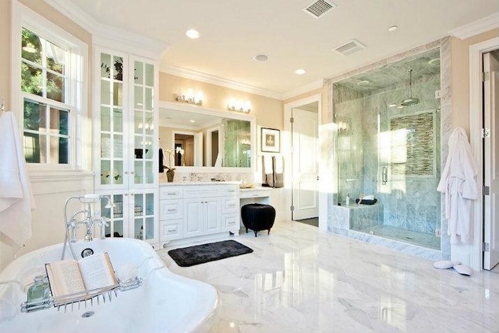 Découvrez 5 salles de bain de luxe