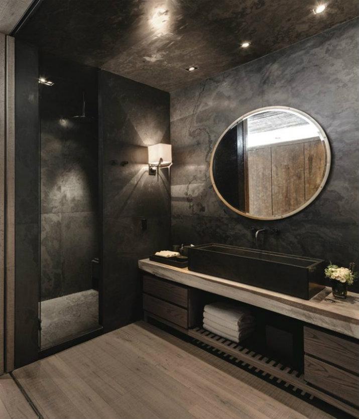 Des salles de bain avec la couleur noire salles de bain Des salles de bain avec la couleur noire 414