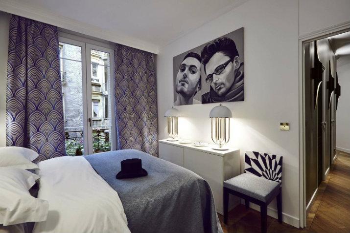 LE PROJET ÉLÉGANTE AVEC LA CRÉATIVITÉ ET CONFORT CONTEMPORAIN L'appartement par Rue Monsieur Paris L'appartement par Rue Monsieur Paris 52