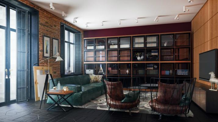 5  Un appartement style années 50 520