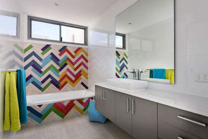 Il y en a de toutes les couleurs  salles de bain Il y en a de toutes les couleurs 116