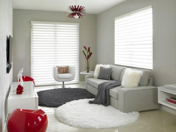 des tapis ronds pour un effet moderne magasins d co les derni res tendances pour votre maison. Black Bedroom Furniture Sets. Home Design Ideas
