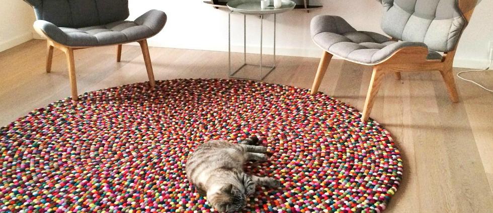 4  Des tapis ronds pour un effet moderne ! 424