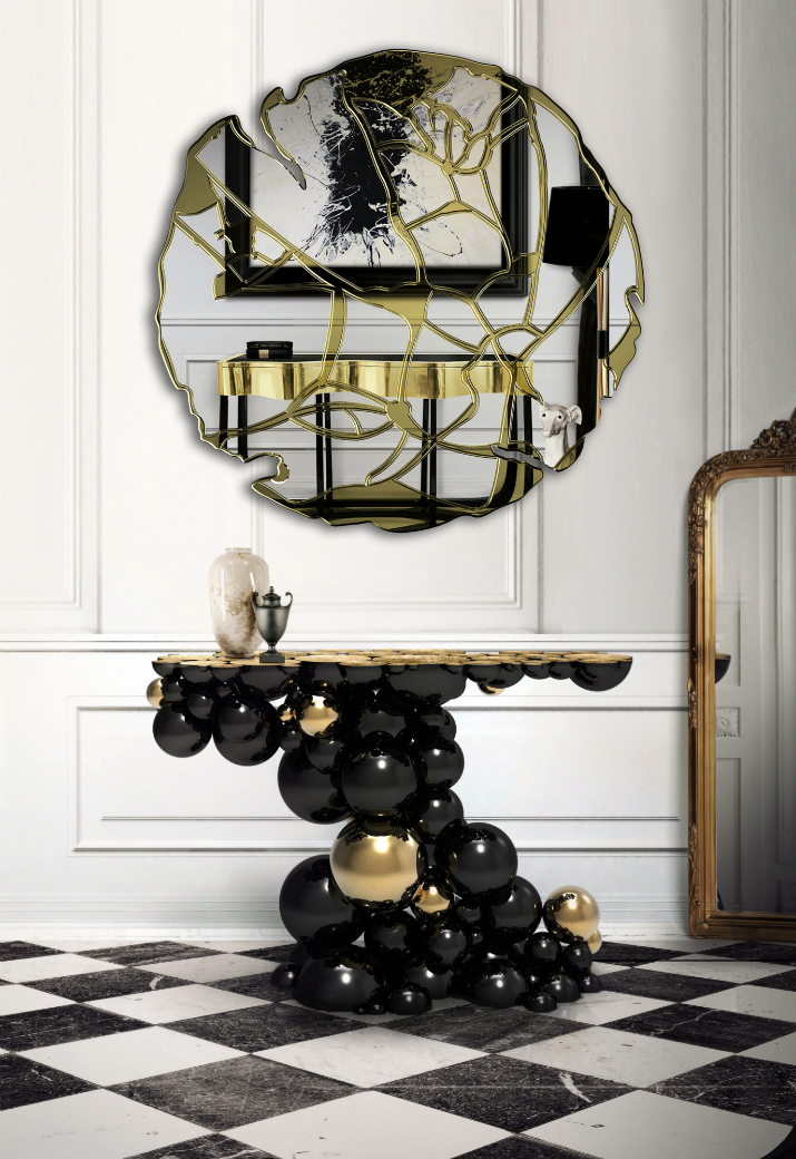 7 miroirs Comment placer un miroir dans un hall d'entrée? 75