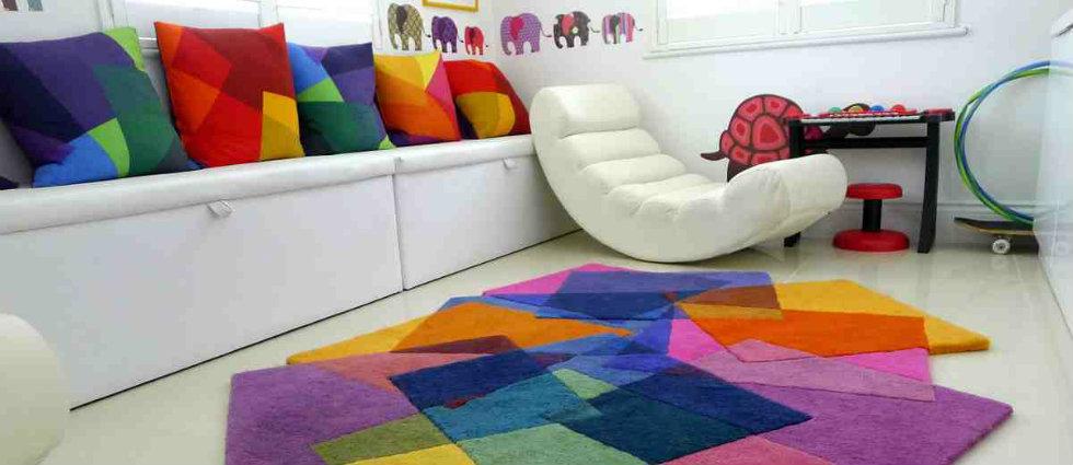 Des tapis pour chambre d'enfants