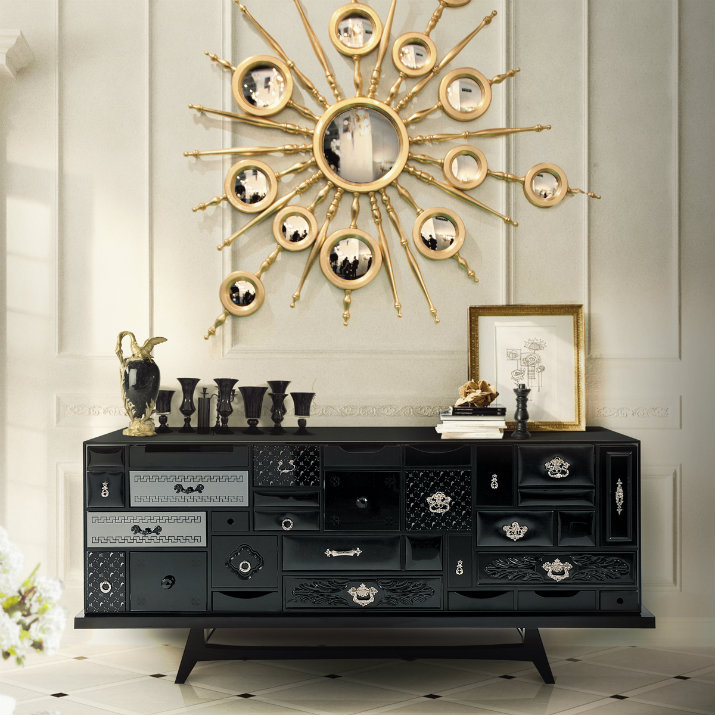 Idées sur la façon d´embellissez votre salon avec armoires superbes