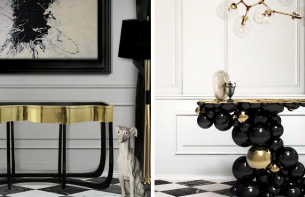 Tables console moderne 5  idées de Tables console moderne pour votre décoration capa10 620x400