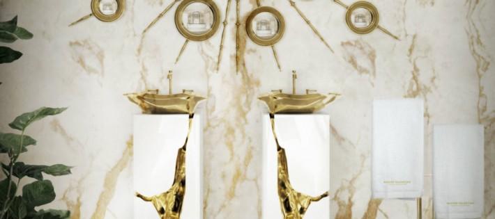 Luxe de salle de bain 5 idées de luxe de salle de bain avec Tables d'appoint Superbes capa11 710x315