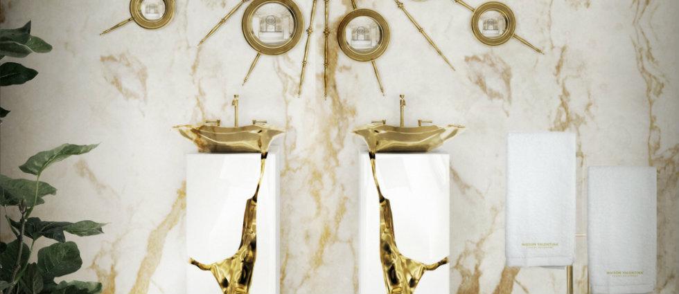 Luxe de salle de bain 5 idées de luxe de salle de bain avec Tables d'appoint Superbes capa11