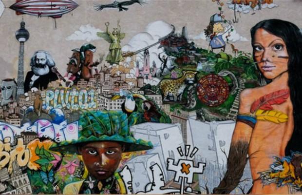 l ́art de rue decorations LA VILLE DE L'ART DE LA RUE : PROJET DE VIE BLEU capa7 620x400