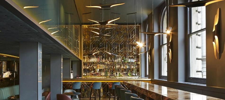 Un restaurant incroyable avec un design parfait