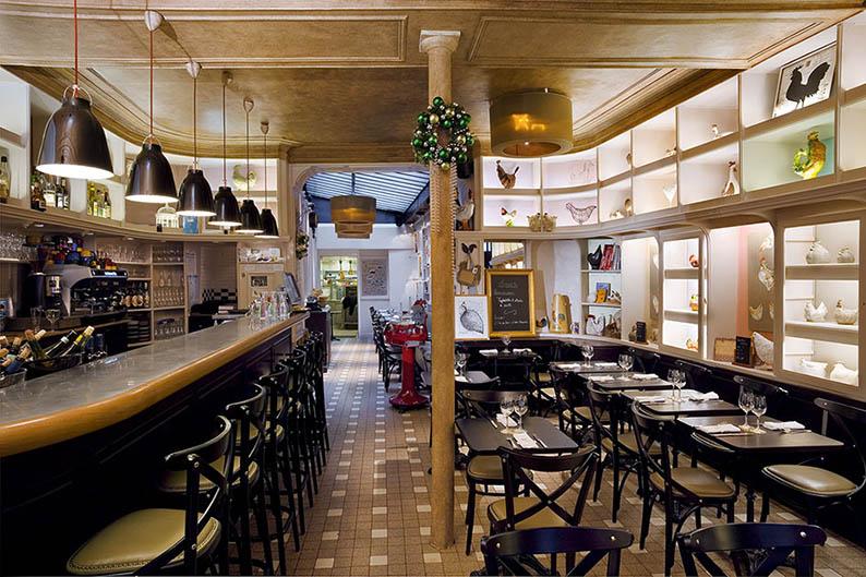 6 PROJETS D'INTÉRIEUR PAR LE CABINET LAURENT MOREAU3 CABINET LAURENT MOREAU 6 PROJETS D'INTÉRIEUR PAR LE CABINET LAURENT MOREAU restaurant 4