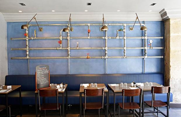 CABINET LAURENT MOREAU 6 PROJETS D'INTÉRIEUR PAR LE CABINET LAURENT MOREAU restaurant Rob 5A 620x400