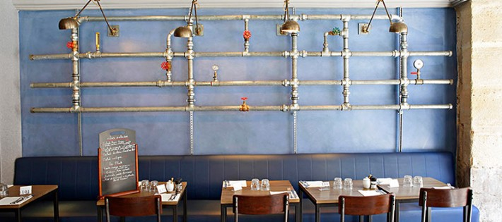 CABINET LAURENT MOREAU 6 PROJETS D'INTÉRIEUR PAR LE CABINET LAURENT MOREAU restaurant Rob 5A 710x315