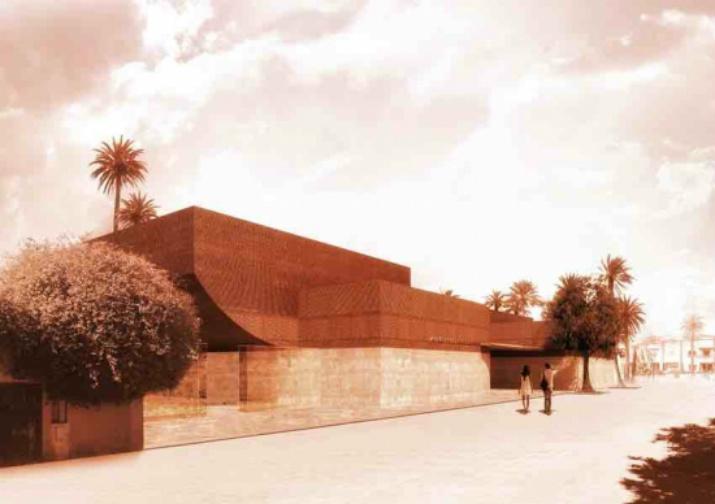 Musée Yves Saint Laurent  yves saint laurent Musée Yves Saint Laurent à Marrakech par Studio KO 53
