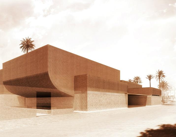 Musée Yves Saint Laurent yves saint laurent Musée Yves Saint Laurent à Marrakech par Studio KO 71