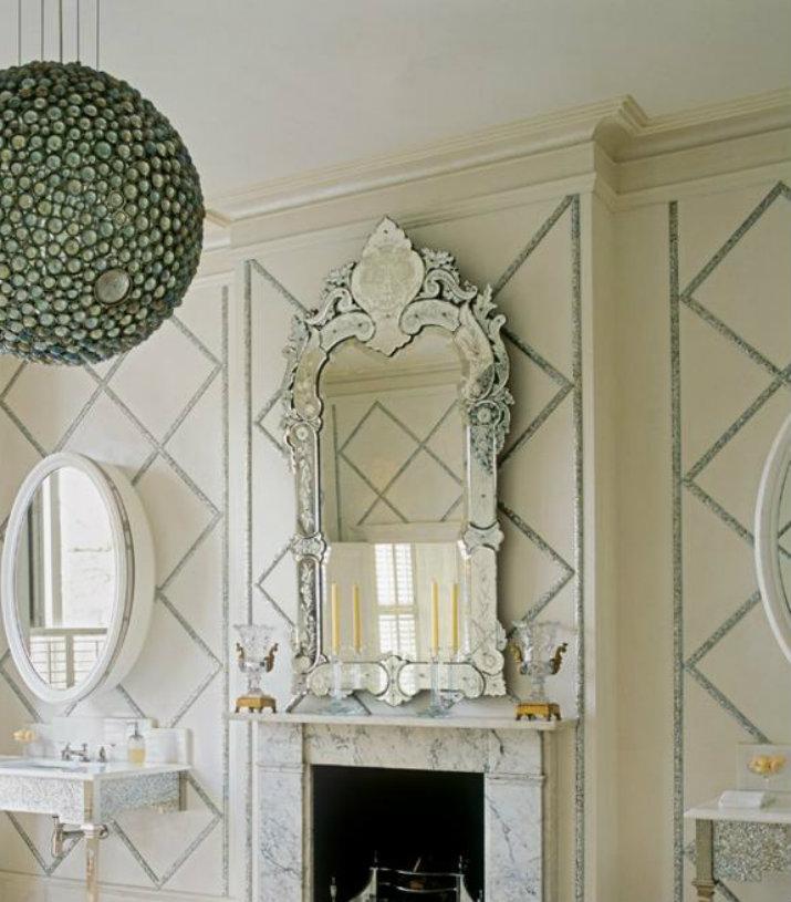 Miroir Vénitien Miroirs Vénitiens 7 Miroirs Vénitiens Sensationnels pour le Salon 9