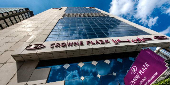 Crowne Plaza Abu Dhabi HOTEL DE LUXE PROJETS D'HOTEL DE LUXE PAR ARCHITECTES INTÉRIEURS CITY PALACE INTERIORS Crowne Plaza Abu Dhabi