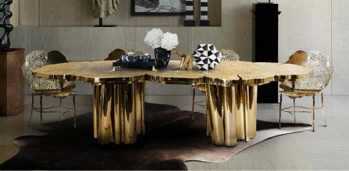Fortuna  table Table de Noël – Des idées pour décorer votre salle à manger Fortuna Dining Table